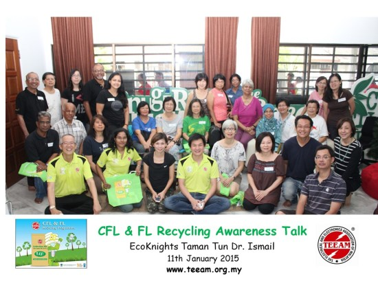 CFL & FL Recycling Awareness Talk @ EcoKnights TTDI
